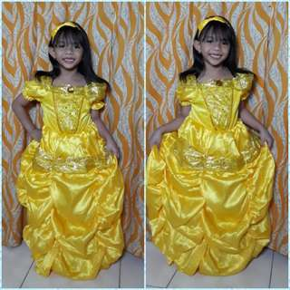 Belle of Beauty and the Beast Costume(ACTUAL PHOTO)