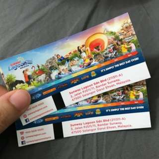 Sunway Lagoon Adult Ticket