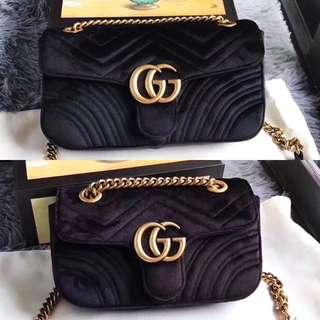 Gucci GG Marmont Velvet Bag 22/26