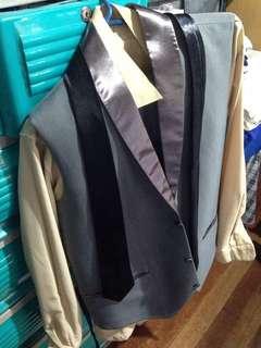 Set Beige&Gray Suit