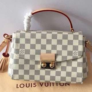 Louis Vuitton Croisette Damier Azur Canvas