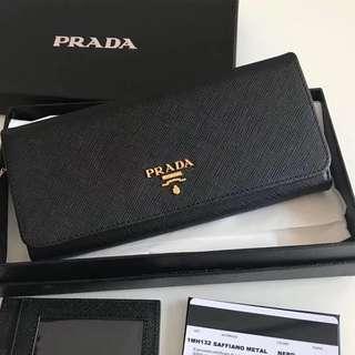 👍🏻BEST SELLING Prada Women Saffiano Leather Wallet