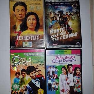 Pre-Loved DVDs/VCDs