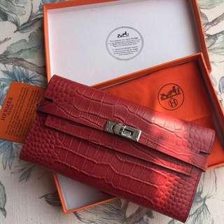 👍🏻BEST SELLING Hermes Kelly Classic Wallet (3 Fold)