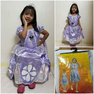 SOFIA THE FIRST COSTUME (Actual Photo)