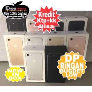 Iphone 7-32GB Apple New Original Cash/kredit Dp 3jt ditoko ktp+kk wa;081905288895