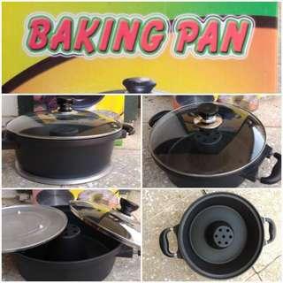 Cetakan Kue Bolu Baking Pan Murah Bahan Alumunium & Teflon Anti Lengket