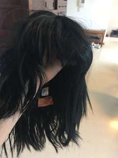 Black Wig for Costume Party