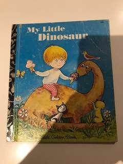 My Little Dinosaur - Little Golden Book
