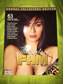 The Girls of FHM Vol 3 Magazine