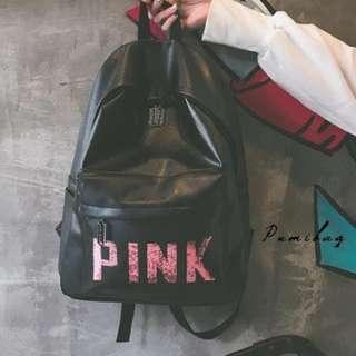 VS Inspired Pink Backpack