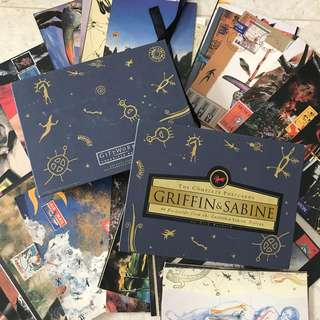 46 Postcards from Griffin and Sabine Trilogy