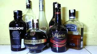 Botol Kosong Minuman Beralkohol