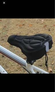 High Quality Bicycle Saddle Bicycle Parts Cycling Seat Mat Comfortable Cushion Soft Seat Cover for Bike....
