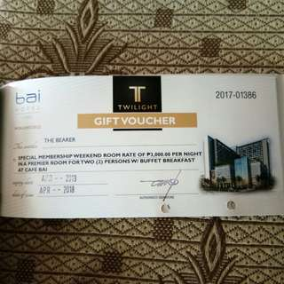 Bai Hotel Premier Room Discounted Rate Voucher