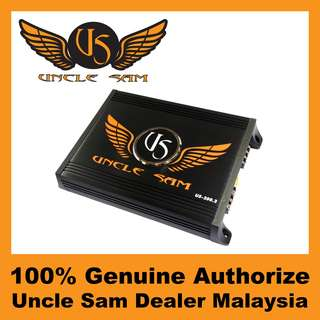 Uncle Sam 2-Channel Amplifier