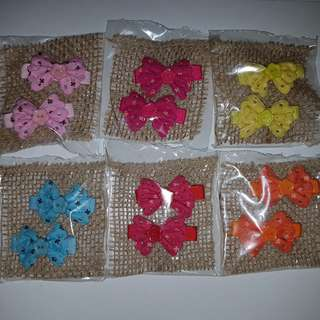 Instock Hairclips/Bowclips