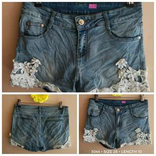 3044 DENIM SHORTS