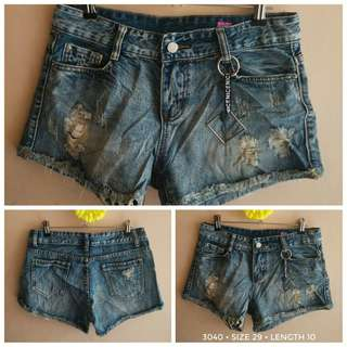 3040 DENIM SHORTS