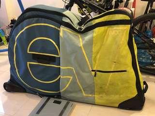 Evoc travel bike bag for rental!