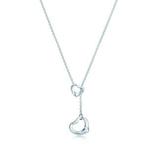 Tiffany Open Heart Lariat Necklace 頸鍊
