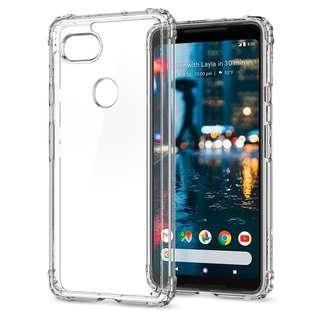 Spigen Google Pixel 2 XL Crystal Shell Case (Authentic)