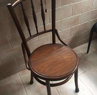 Kopitiam Teakwood Chairs Antique