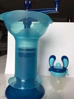Kidsme food grinder and self feed tube