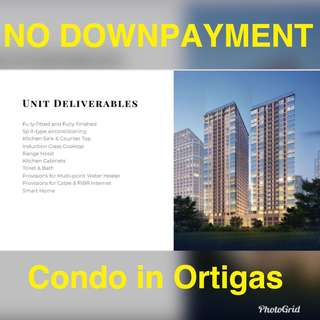 12K monthly NO DOWNPAYMENT pre selling rent to own condo in Ortigas near Makati Antipolo Ayala Pasay BGC Mandaluyong Quezon City