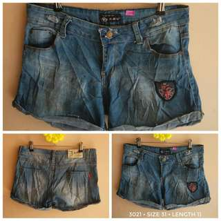 3021 DENIM SHORTS