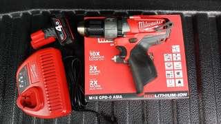Drill set   Milwaukee M12 FUEL
