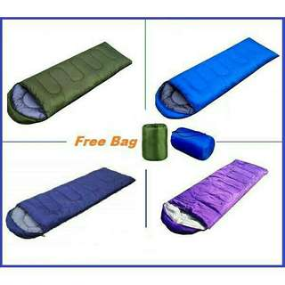 Portable Sleeping Bag Hiking Camping Single + Free post