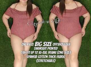 Plus size swimsuit / big size swimsuit
