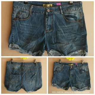 3014 DENIM SHORTS