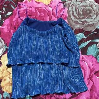 Blue Kryzzie Top