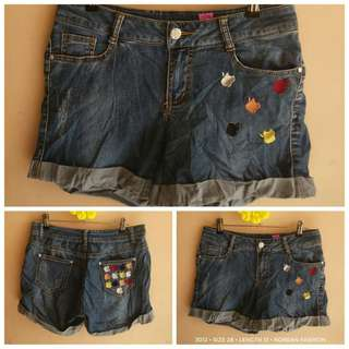 3012 DENIM SHORTS