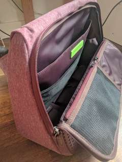 Evernote + abrAsus Triangle Commuter Bag