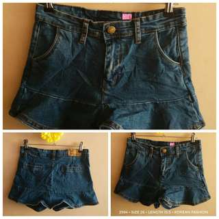 2994 DENIM SHORTS