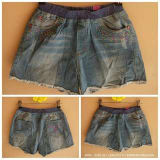 2992 DENIM SHORTS