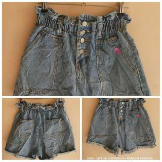 2986 DENIM SHORTS