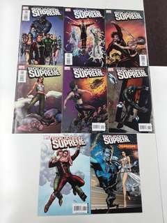 Squadron Supreme The Pre-War Years (2006 Marvel) Comics Set