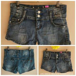 2976 DENIM SHORTS