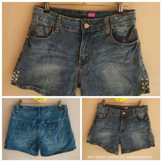 2971 DENIM SHORTS