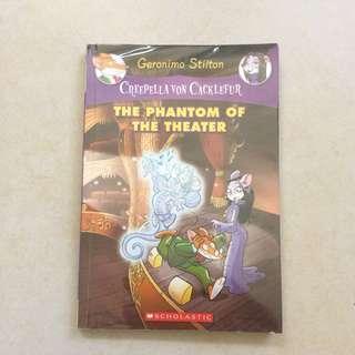 Geronimo Stilton and Creepela Von Cacklefur-the phantom of the theater