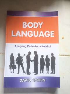 Body Language David Cohen
