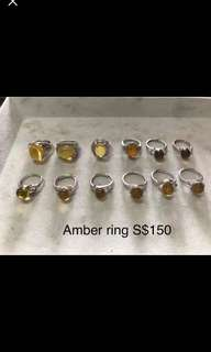 Millions year old amber from Myanmar