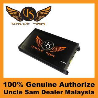 Uncle Sam 4-Channel Amplifier, 300W - US500.4
