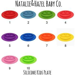 Silicone Kids Meal Plate
