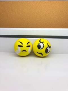 Emoticon stressball