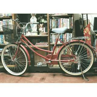 SALE!! JAPANESE-STYLED MARINONI CRUISER BIKE BICYCLE (w/ free accessories) ✨